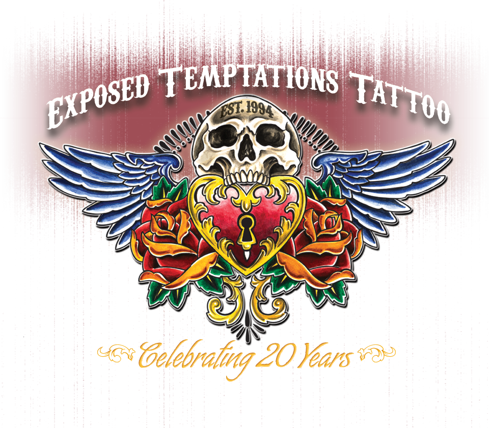 Expossed Temptations Tattoos Celebrating 20 years