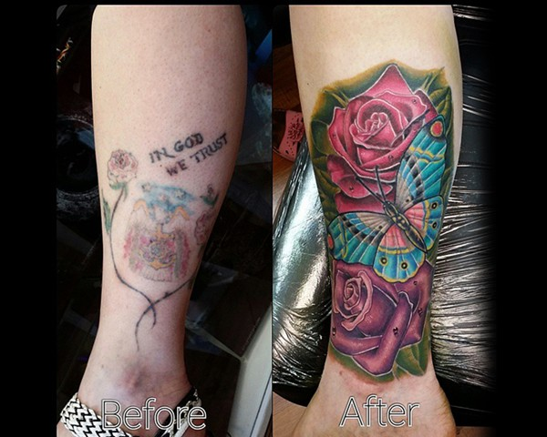 Ower tattoo portfolio exposed temptations for Tattoo shops in northern va